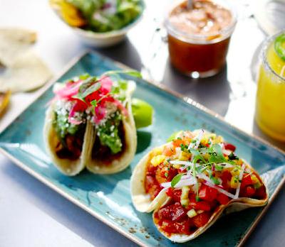 Taco med svinekjøtt