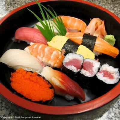 Sushi set meny1