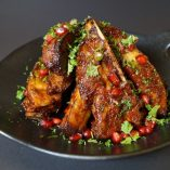 Mini spareribs i spicy BBQ-saus