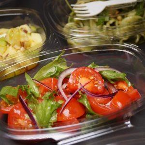 Sidesalat med tomat