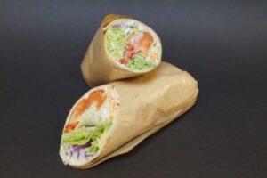 Overtidsmat - Wraps med pepperlaks og snøfrisk