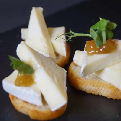 Brie de Meux med chutney