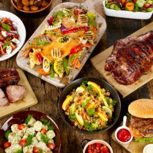 Grillbuffet – liten, medium, stor