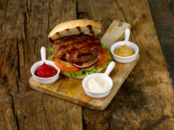 Hamburger grillbuffet