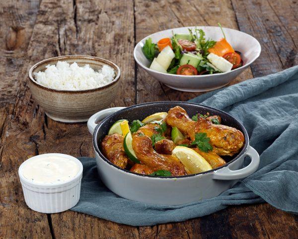 Tandoorimarinert kylling
