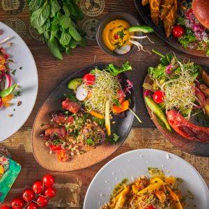 Bestselger-tilbud: tapas + dessert (10 retter)