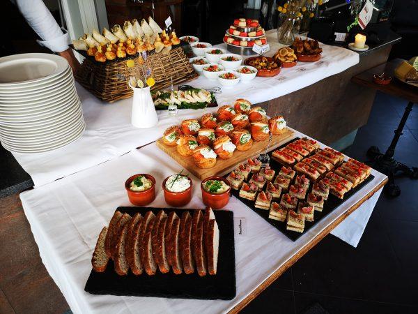 Fransk buffet (12-17 retter)