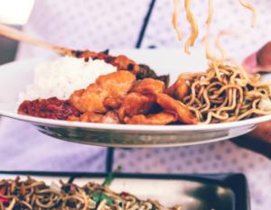 Asiatisk buffet