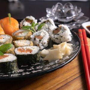 Assortert sushi