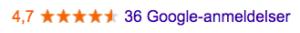 Cateringo Google referanser