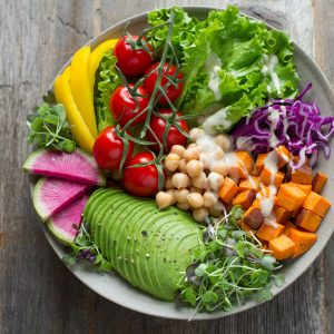 Plukk-selv vegetar-tapas